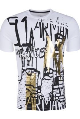 Armani Exchange Erkek T-Shirt 3ZZTBGZJH4Z 1100