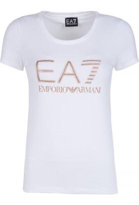 Ea7 Kadın T-Shirt 6YTT25 TJ12Z 1100