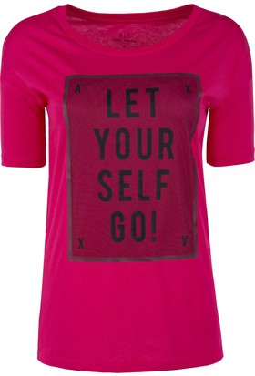 Armani Exchange Kadın T-Shirt 3ZYTAC YJA8Z 1428