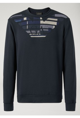 Emporio Armani Erkek Sweat Shirt 3Z1ML0 1JQVZ