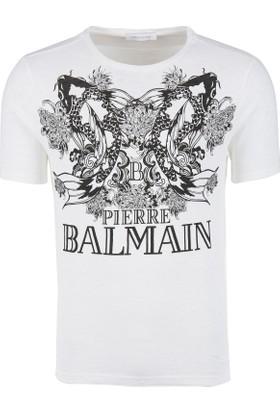 Pierre Balmain Erkek T-Shirt HP68209TA8290 003