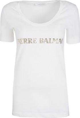 Pierre Balmain Kadın T-Shirt FP68201TA8285