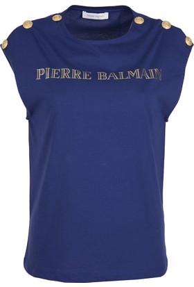 Pierre Balmain Kadın T-Shirt FP68220TA8285