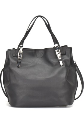 Butigo Pr18Ss010 Siyah Kadın Omuz Çantası