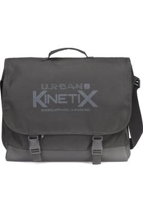 Kinetix Hulk Siyah Unisex Laptop Çantası