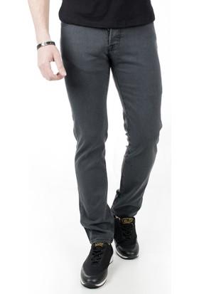 DeepSEA Antracite Kumaşı Desenli Likralı Erkek Kot Pantolon 1800340