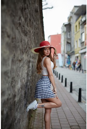 Laslusa Geniş Kenar Şapka
