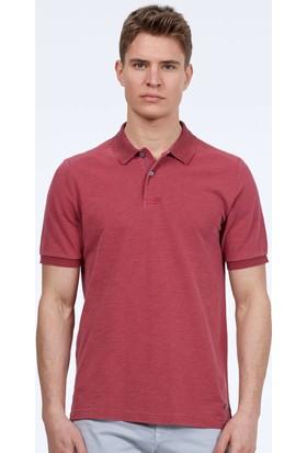 Hemington Erkek Açık Bordo Vintage Polo Yaka T-Shirt