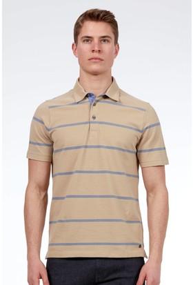 Hemington Erkek Camel Polo Yaka T-Shirt