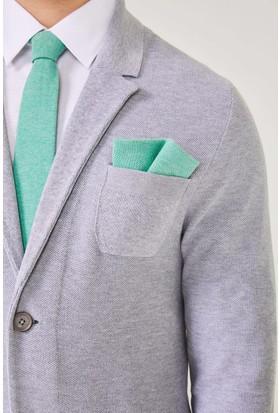 Hemington Erkek Açık Yeşil Örgü Mendil
