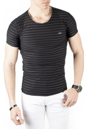 Deepsea Kesik Yakalı Erkek T-Shirt 1818212
