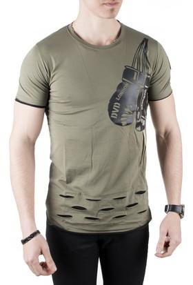 Deepsea Likralı Erkek T-Shirt 1810774