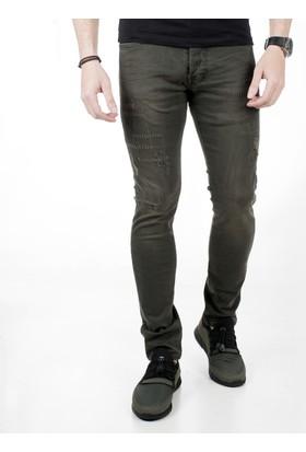 Deepsea Likralı Slimfit Erkek Kot Pantolon 1806439