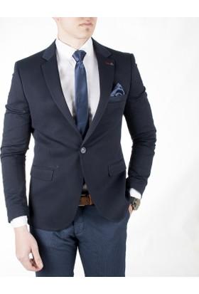 Deepsea Slimfit Blazer Erkek Ceket 1801610