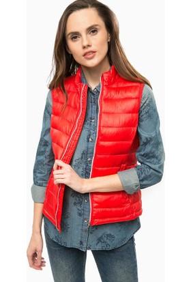 Vero Moda Waistcoat Kırmızı Yelek