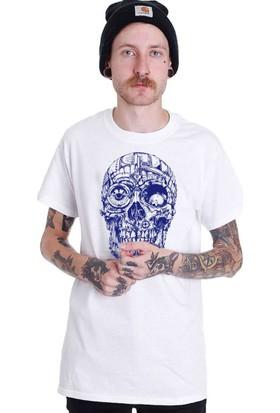 The Chalcedon Mechanic Skull Erkek Tshirt