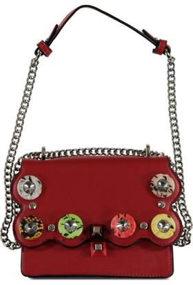 Marjin Kadın Enzil Günlük Çanta Kırmızı