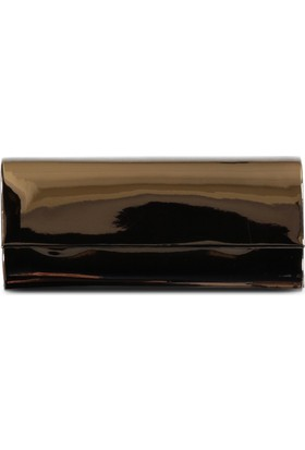 Marjin Kadın Deni Abiye Çanta Pudra Altın Ayna