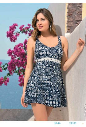 Endeep Elbise Kadın Elbise Mayo 21339