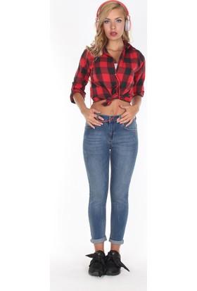 Moda Rota T-Utica233 Bayan Boyfriend Pantolon