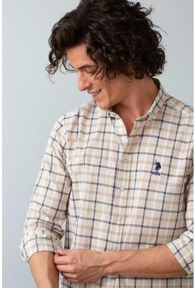 U.S. Polo Assn. Dokuma Gömlek 50195063-Vr013