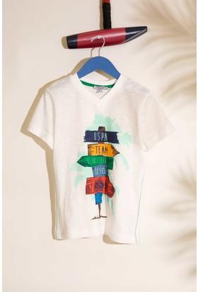 U.S. Polo Assn. Erkek Çocuk Pijama 50196367-Vr019