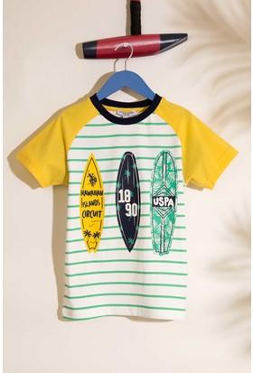 U.S. Polo Assn. Erkek Çocuk Pijama 50196369-Vr044
