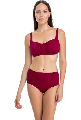 Dagi Kadın Toparlayıcı Bikini Takımı Bordo