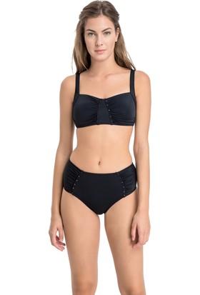 Dagi Kadın Toparlayıcı Bikini Takımı Siyah
