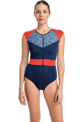 Dagi Kadın Yüzücü Mayo Lacivert