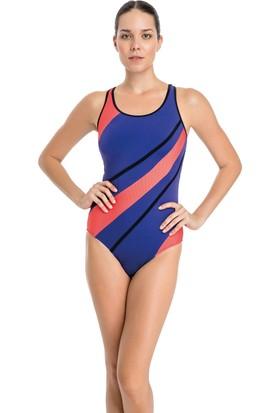 Dagi Kadın Yüzücü Mayo Mor