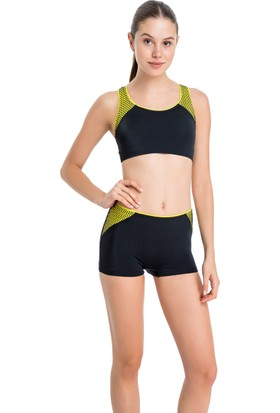 Dagi Kadın Yüzücü Bikini Takımı Sarı