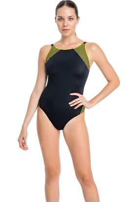 Dagi Kadın Yüzücü Mayo Sarı