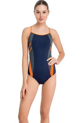 Dagi Kadın Yüzücü Mayo Turuncu