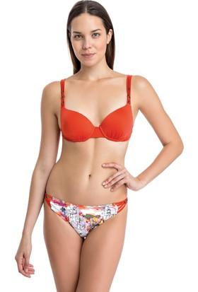 Dagi Kadın Kaplı Bikini Takımı Turuncu
