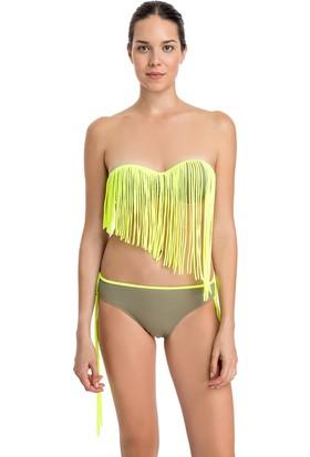 Dagi Kadın Straplez Bikini Takımı Yeşil