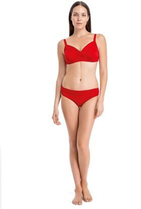 Dagi Kadın Kaplı Bikini Takımı Kırmızı