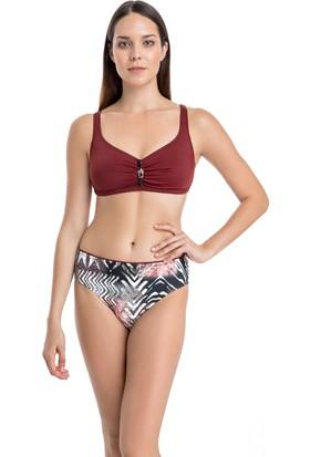 Dagi Kadın Luplu Bikini Takımı Kiremit