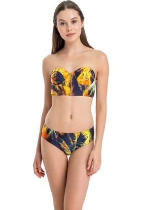Dagi Kadın Straplez Kaplı Bikini Takımı Turuncu