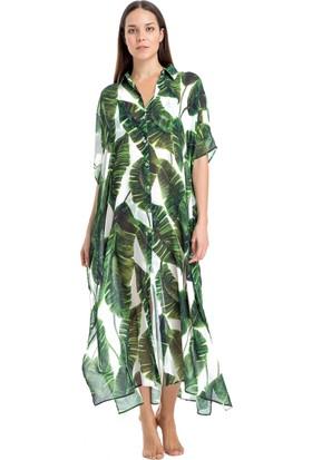 Dagi Kadın Pareo Yeşil