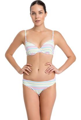 Dagi Kadın Kaplı Bikini Üst Beyaz