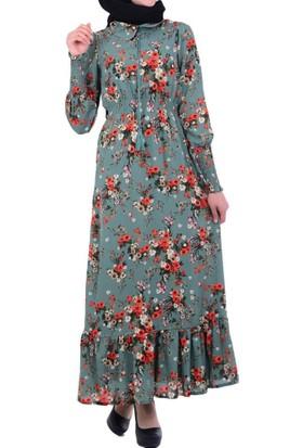 Beliz 7370 Kadın Elbise - 18-1B253002