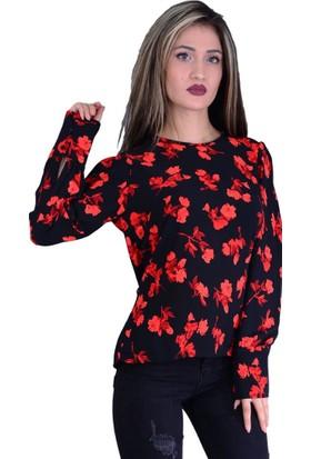 Firesh 1463 Noktalı Bluz - 18-1B577011