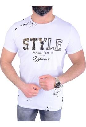 Lagos 19126 Erkek T-Shirt - 18-1E590003