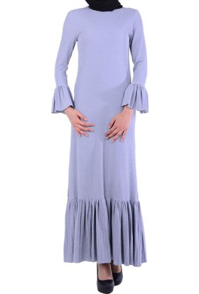 Referans 1204 Fırfırlı Elbise - 18-1B044004