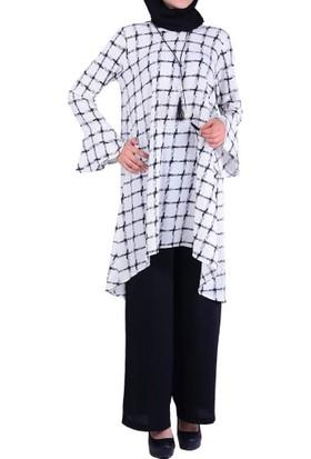 Estelle- Bilge Yılmaz 3346 Tunik Takım - 18-1B571036