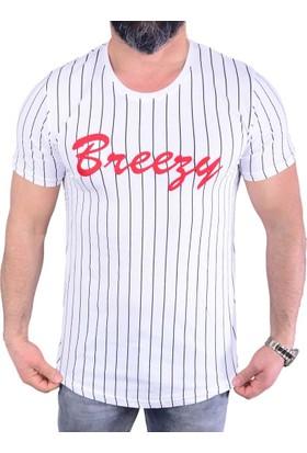 Breezy- 6102 Erkek T-Shirt - 18-1E569006
