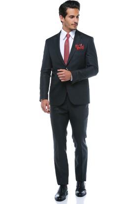 Centone Erkek Antrasit Dar Kesim Takım Elbise -18Y-0005