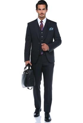 Centone Erkek Antrasit Rahat Kesim Takım Elbise -18Y-0006