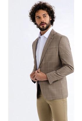 Kiğılı Erkek İtalyan Kareli Ceket